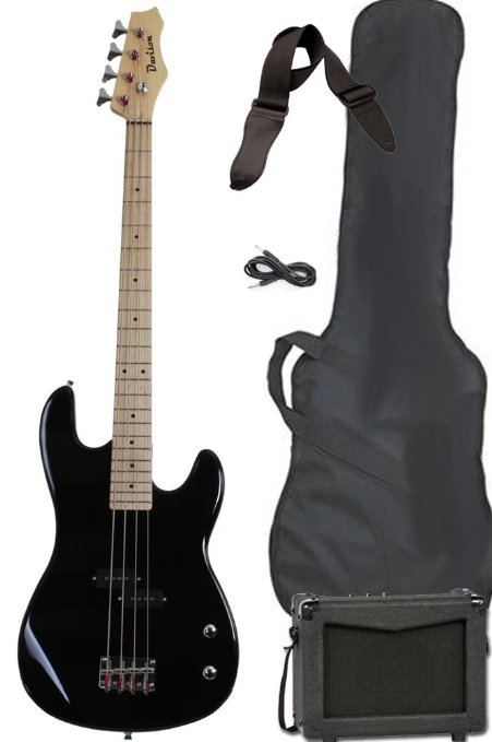 5/ Full Size Electric Bass Guitar Starter Beginner Pack