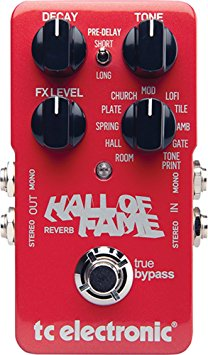 4/ TC Electronic Hall of Fame Reverb Pedal
