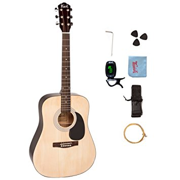 9/ Trendy 41 Inch Full-Size Dreadnought 6 Steel String Beginner Acoustic Guitar