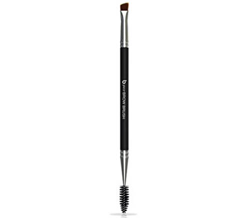 4. pro Eyebrow Brush - Duo Angle Brow Brush with Spoolie to Define, Shape and Blend for Perfect Brows Every Time, Works with All Fillers Including Powder, Gel, Wax, Pencils, Tint and Pomade