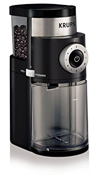 5/ KRUPS GX5000 Professional Electric Coffee Burr Grinder