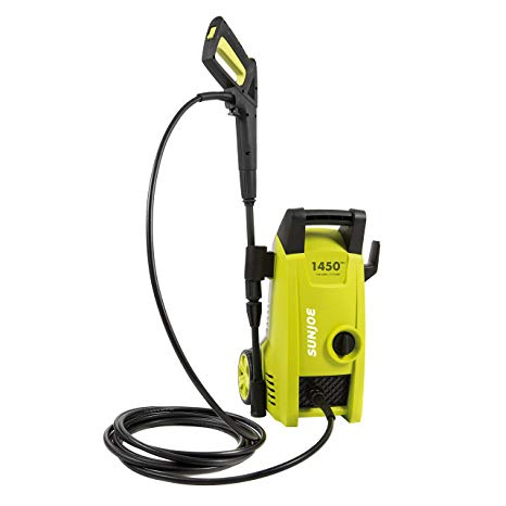 7. Sun Joe Snow Joe SPX1000 1450 PSI 1.45 GPM Electric Pressure Washer