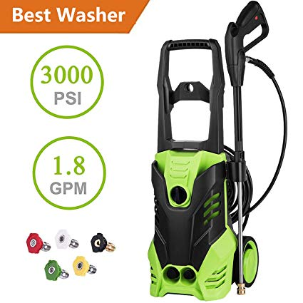 6. Ncient SVX4500 High-Pressure Power Washer